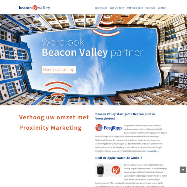 Beacon Valley website