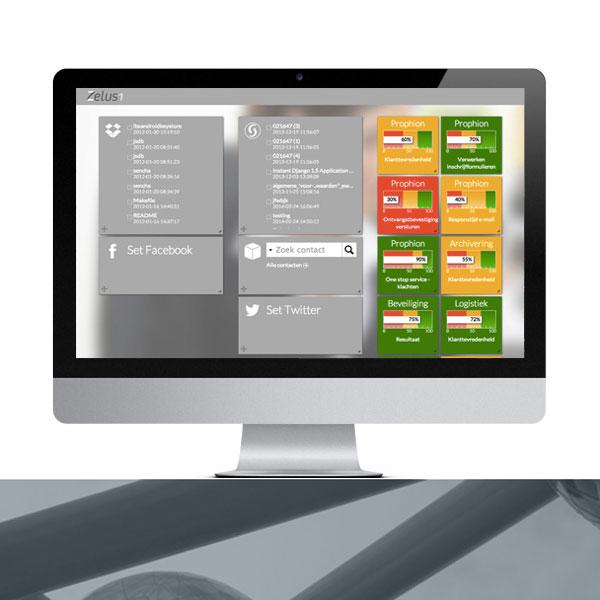 Zelus1 Dashboard portal