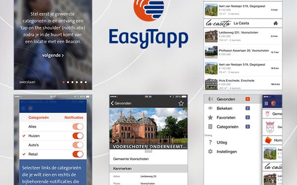 EasyTapp iOS app