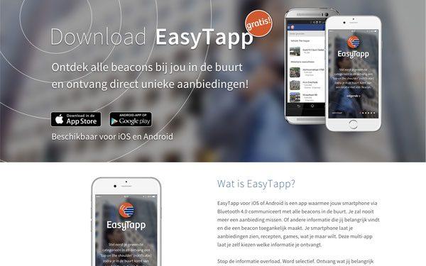 EasyTapp website