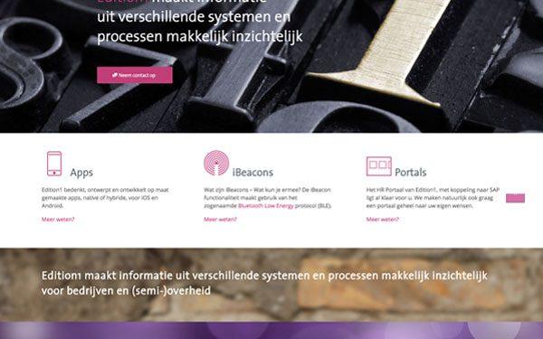 Edition1 website